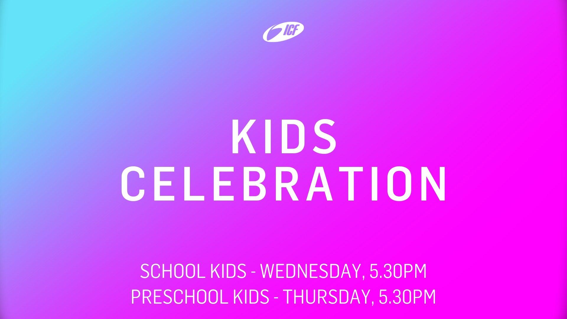 ICF Kids Celebration Livestream